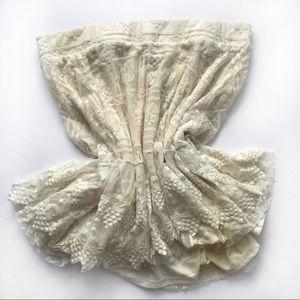 Torrid | Lace Embroidered Mesh Skater Skirt 2 New